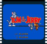 Tom and Jerry SNES Title screen / Main menu.