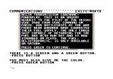 Gruds In Space Commodore 64 Mission reminder