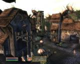 The Elder Scrolls IV: Shivering Isles Windows The village of Passwall.