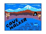 Cave Walker TRS-80 CoCo Intro screen