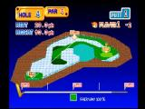 Putter Golf PlayStation Hit start to get an overview of the hole