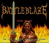 Battle Blaze SNES Title screen