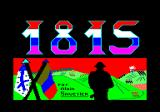 1815 Amstrad CPC Loading screen