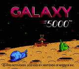 Galaxy 5000 NES Title screen