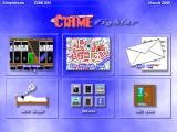 Crime Fighter Windows The main menu is where each player starts their turn.