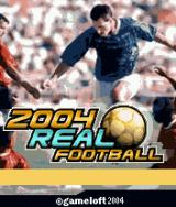 2004 Real Soccer J2ME Title Screen
