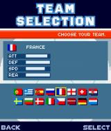 2004 Real Soccer J2ME Team selection in the European Cup