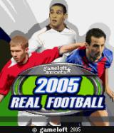2005 Real Soccer J2ME Title screen