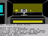 Spy-Trek Adventure ZX Spectrum The check-in desk