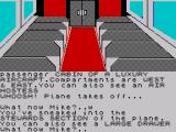 Spy-Trek Adventure ZX Spectrum Inside the plane