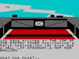 Spy-Trek Adventure ZX Spectrum Ooh la la