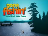 Gone Fishin' DOS Title screen
