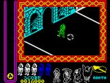 Nightshade ZX Spectrum Green means trouble