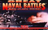 Great Naval Battles: North Atlantic 1939-43 DOS Title screen