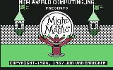 Might and Magic: Book One - Secret of the Inner Sanctum Commodore 64 Title screen 1