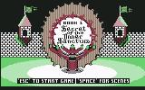 Might and Magic: Book One - Secret of the Inner Sanctum Commodore 64 Title screen 2