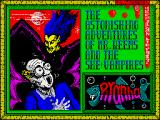 The Astonishing Adventures of Mr. Weems and the She Vampires ZX Spectrum Loading screen