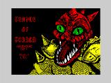 Temple of Terror ZX Spectrum Title screen