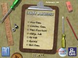 Crazy Machines 1.5: More Gizmos, Gadgets, & Whatchamacallits Windows New from the Lab - Main menu