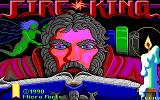 Fire King DOS title screen - EGA