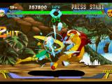 X-Men vs. Street Fighter PlayStation Rogue hit-damaging Sabretooth with a series of straight rushing punches: she marks her first 2 hits!