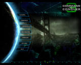 Command & Conquer 3: Tiberium Wars Windows Main menu