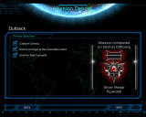 Command & Conquer 3: Tiberium Wars Windows You get medals for completing all primary and bonus objectives.