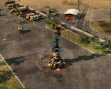 Command & Conquer 3: Tiberium Wars Windows Tiberium Spikes generate extra funds by drawing Tiberium out of the Earth.