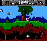 Dizzy: Prince of the Yolkfolk NES I need to get out of this cave.