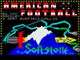 American Football ZX Spectrum Loading screen