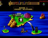 Wizkid: The Story of Wizball II Amiga Map screen