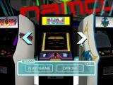 Namco Museum 50th Anniversary Windows Game selection