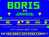 Boris the Bold Dragon 32/64 Title screen