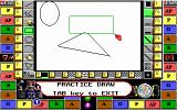 Pictionary: The Game of Quick Draw DOS free form drawing - EGA