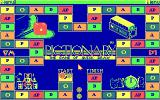 Pictionary: The Game of Quick Draw DOS the game board - CGA
