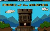 Dizzy: Prince of the Yolkfolk DOS Title screen