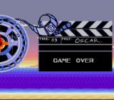 Oscar SNES Game over screen