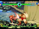 X-Men vs. Street Fighter PlayStation Suspecting that Zangief was ready to strike back, Chun-Li hit-attacks him using her move Hazan Shu.