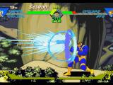 X-Men vs. Street Fighter PlayStation With a guard posture properly performed, Cyclops blocks accurately Cammy White's move Cannon Drill.