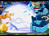 X-Men vs. Street Fighter PlayStation In a forced attempt to strike back Apocalypse's Drill move, Chun-Li uses her Hyper Combo Kikou Shou.