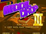 Magical Drop III Neo Geo Title screen (US version)