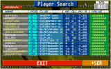 Championship Manager: End of 1994 Season Data Up-date Disk DOS Player search