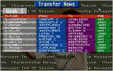 Championship Manager: End of 1994 Season Data Up-date Disk DOS Latest transfers