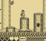The Addams Family Game Boy The Forest