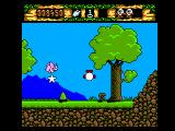 The Fantastic Adventures of Dizzy SEGA Master System A pink triceratops