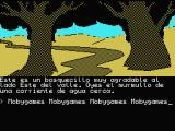 "La Aventura Original MSX A ""very pleasant little forest""."