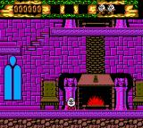 The Fantastic Adventures of Dizzy SEGA Master System By the fireplace