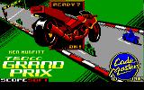 750cc Grand Prix Amstrad CPC Title Screen