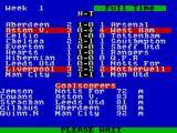 2 Player Soccer Squad ZX Spectrum Quite a fightback from Villa, albeit in vein