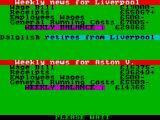 2 Player Soccer Squad ZX Spectrum News of the league